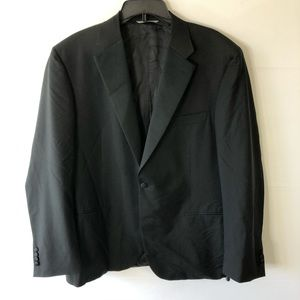 Canali Mens black blazer size 48L